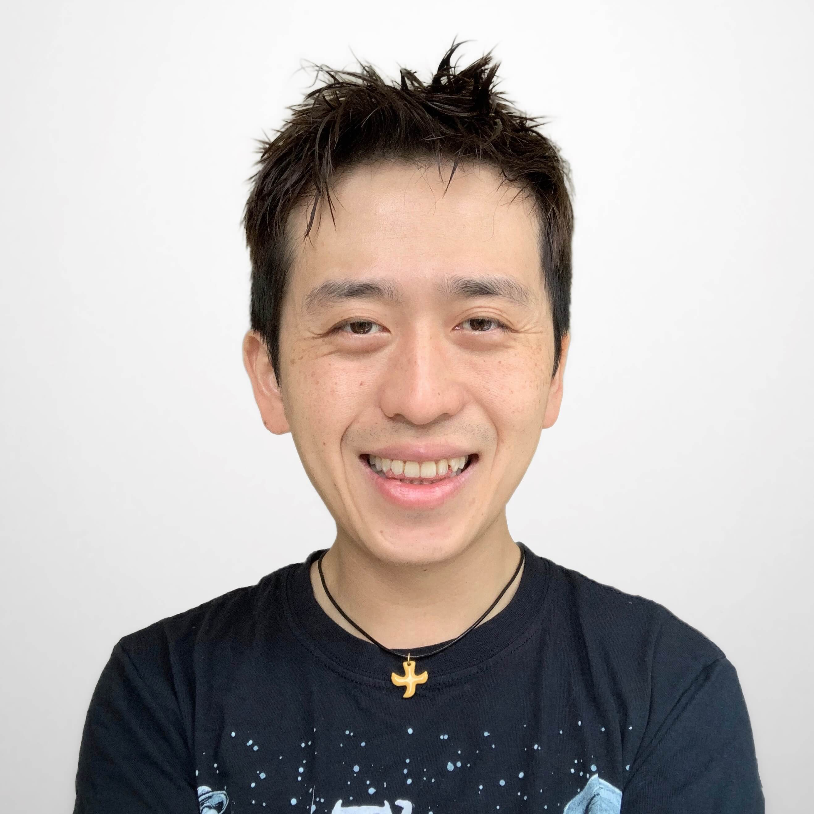 Photograph of Si Chun Lam, data scientist and creative professional.